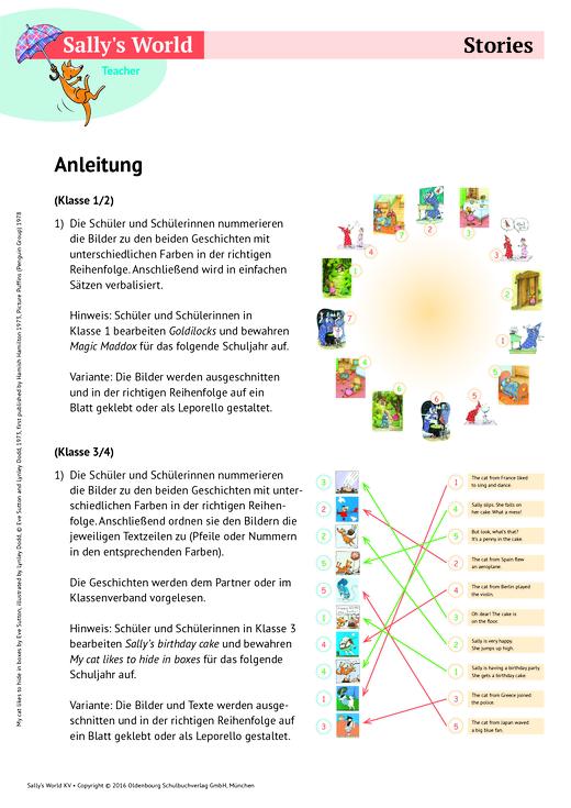 Stories - Arbeitsblatt   Cornelsen