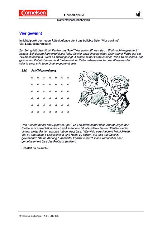 Fantastisch Mathematisches Problem Arbeitsblatt Zeitgenössisch ...