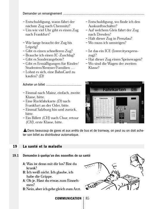 Kommunikation: B19 - La santé et la maladie - Arbeitsblatt   Cornelsen
