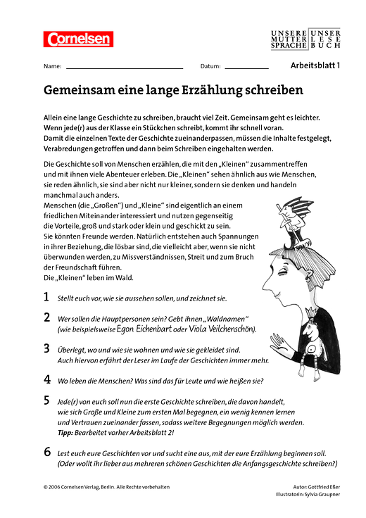 Fancy Schreiben Geschichte Arbeitsblatt Embellishment - Mathe ...