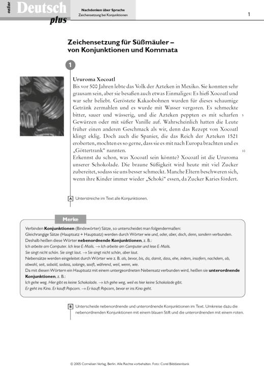 Zeichensetzung für Süßmäuler – von Konjunktionen und Kommata ...