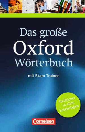 Das große Oxford Wörterbuch :: Wörterbuch mit beigelegtem Exam ...