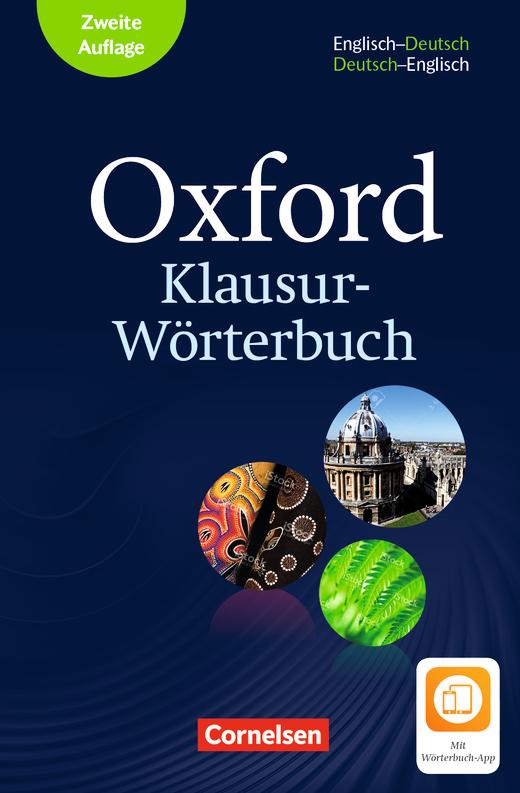 Oxford Klausur-Wörterbuch - Wörterbuch Englisch-Deutsch/Deutsch ...