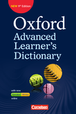 Oxford Advanced Learner's Dictionary :: 9th Edition : Wörterbuch (Festeinband) mit Online-Zugangscode : Inklusive Oxford Speaking Tutor und Oxford Writing Tutor