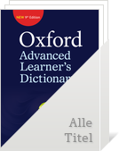 Bild Oxford Advanced Learner's Dictionary:9th Edition