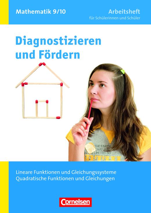 Diagnostizieren und Fördern - Arbeitshefte - Lineare Funktionen und ...