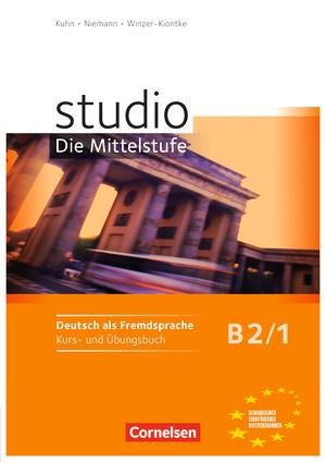 studio die mittelstufe kurs und 220bungsbuch b2 band 1