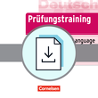 Prüfungstraining DaF : AP German Language and Culture Exam : Teacher Information als Download