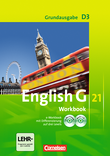 English G 21 :: Grundausgabe D : Workbook mit CD-ROM (e-Workbook) und Audio-Materialien