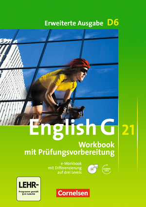 Workbook mit CD-ROM (e-Workbook) und Audio-Materialien