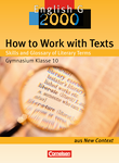 Einzeltitel ::  : How to Work with Texts : Skills and Glossary of Literary Terms : Textheft