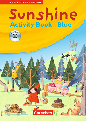 Activity Book - BLUE mit Lieder-/Text-CD (Kurzfassung)