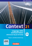 Language, Skills and Exam Trainer : Klausur- und Abiturvorbereitung : Workbook mit CD-Extra - mit Answer Key : CD-Extra mit Hörtexten und Vocab Sheets