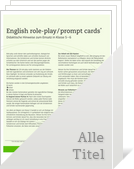 Bild English role-play/prompt cards