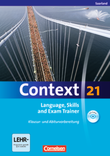 Context 21 :: Saarland : Language, Skills and Exam Trainer : Klausur- und Abiturvorbereitung : Workbook mit CD-Extra : CD-Extra mit Hörtexten und Vocab Sheets