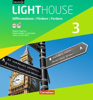 english g lighthouse kopiervorlagen mit l sungen im ordner allgemeine ausgabe band 3 7. Black Bedroom Furniture Sets. Home Design Ideas