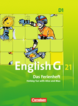English G 21 :: Ausgabe D : Das Ferienheft : Holiday fun with Alice and Max : Arbeitsheft