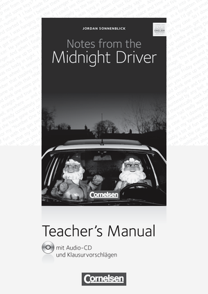Notes from the Midnight Driver : Teacher's Manual mit Audio-CD