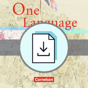 One Language, Many Voices : Teacher's Manual mit Klausurvorschlägen als Download