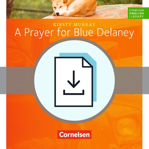 Cornelsen English Library - A Prayer for Blue Delaney ...