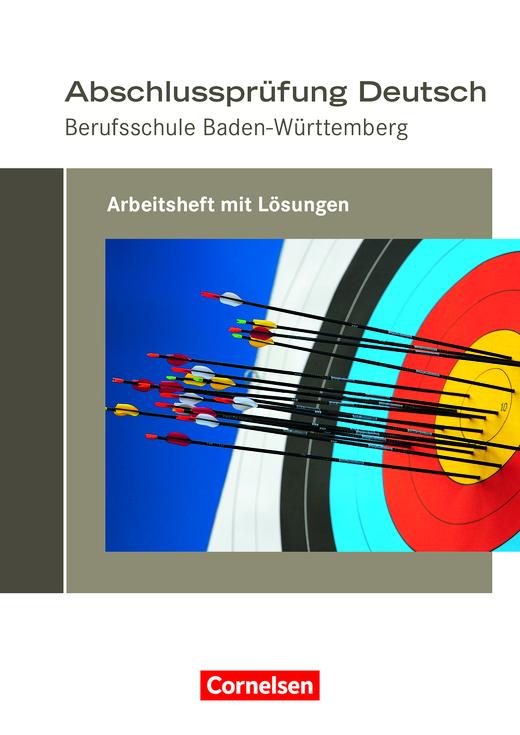 Abschlussprüfung Deutsch Arbeitsheft Mit Lösungen Cornelsen