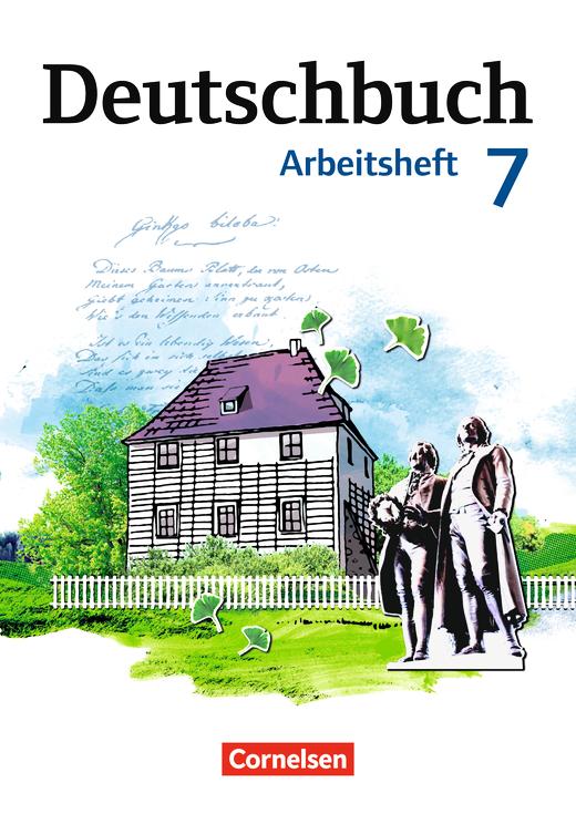 deutschbuch gymnasium arbeitsheft mit l sungen 7 schuljahr cornelsen. Black Bedroom Furniture Sets. Home Design Ideas