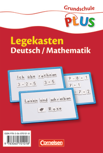 Legekasten : Deutsch - Mathematik