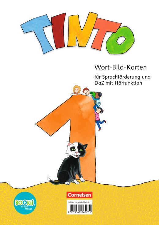 Tinto 1 Wort Bild Karten 1 Schuljahr Cornelsen