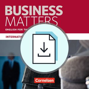 English for the Business Sector : Handreichungen für den Unterricht als Download