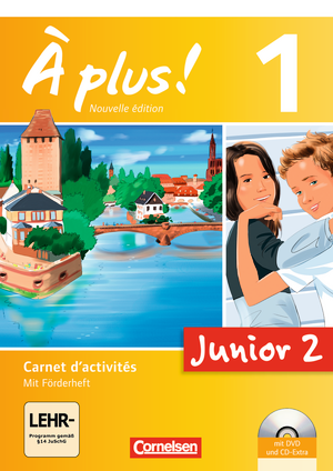 Junior 2 : Carnet d'activités mit Audio-Materialien und DVD-ROM