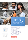 Simply Business : Coursebook : Mit Video-DVD, Audio/MP3-CD und App