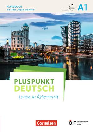 pluspunkt deutsch leben in sterreich kursbuch mit audios und videos online a1 9783065209731. Black Bedroom Furniture Sets. Home Design Ideas