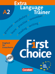 First Choice : Extra Language Trainer mit CD-ROM
