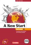 A New Start - New edition : Kursbuch mit Audio CD, Grammatik- und Vokabelheft