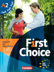 First Choice : Kursbuch Fast : Mit Magazine CD, Classroom CD, Phrasebook