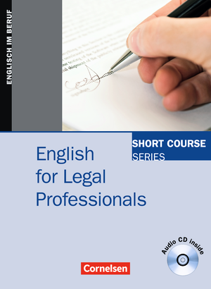 English for Legal Professionals : Kursbuch mit CD