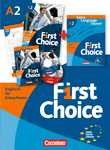First Choice : Kursbuch, Extra Language Trainer (ELT) in Mappe : Mit Magazine CD, Classroom CD, Phrasebook