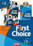 First Choice : Kursbuch, Extra Language Trainer (ELT) mit CD-ROM : Mit Magazine CD, Classroom CD, Phrasebook