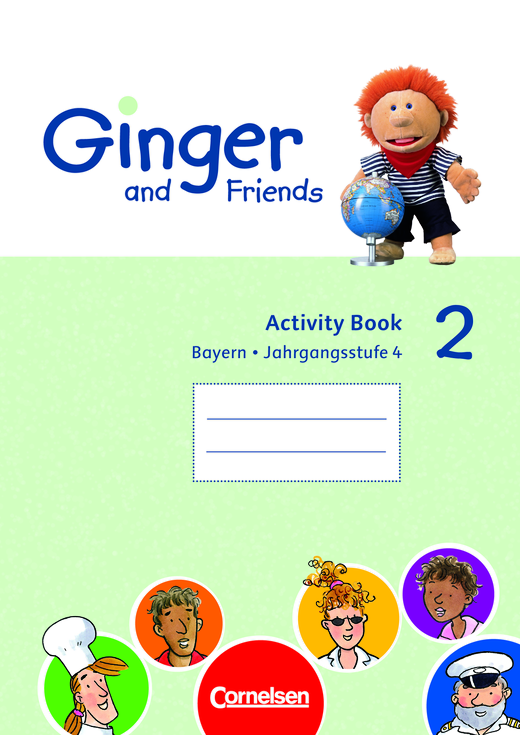 ginger and friends activity book band 2 4
