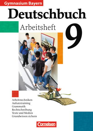 deutschbuch gymnasium arbeitsheft mit l sungen bayern 9 jahrgangsstufe 9783464603611. Black Bedroom Furniture Sets. Home Design Ideas