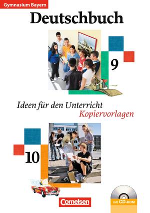 deutschbuch gymnasium kopiervorlagen arbeitsbl tter mit l sungen und cd rom bayern 9. Black Bedroom Furniture Sets. Home Design Ideas