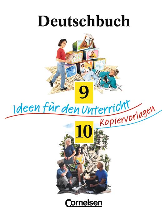 deutschbuch gymnasium ideen f r den unterricht kopiervorlagen und arbeitsbl tter mit. Black Bedroom Furniture Sets. Home Design Ideas