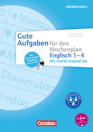My world around me 1-4 : Kopiervorlagen mit CD-ROM