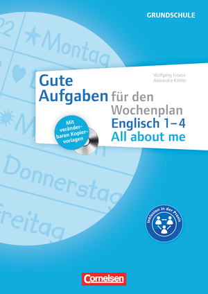 All about me 1-4 : Kopiervorlagen mit CD-ROM