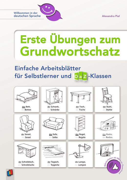 Willkommen in der deutschen Sprache - Erste Übungen zum ...